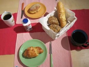 Frühstücksglück.