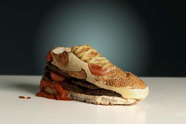 Burger sind rund und die Erde ist eine Scheibe.