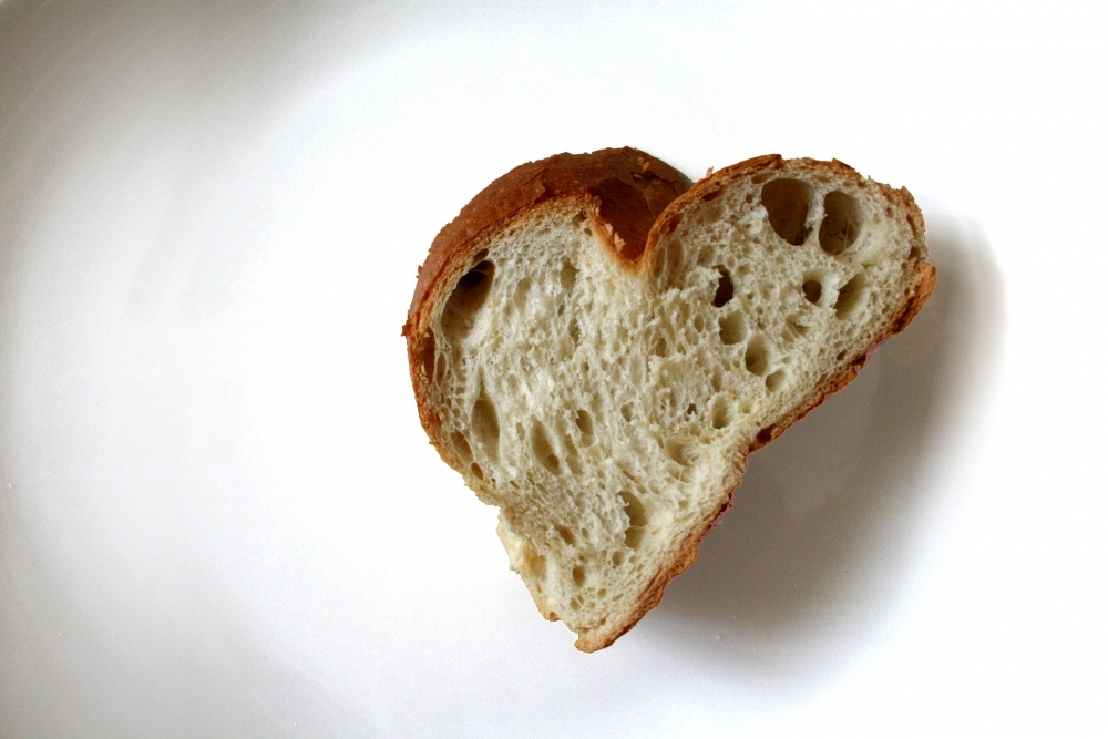Wer das Brot nicht ehrt, ist den Hauptgang nicht wert.