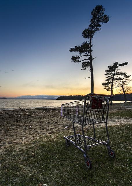 Kostenlos zu jedem Einkauf: Der Supermarktflirt.