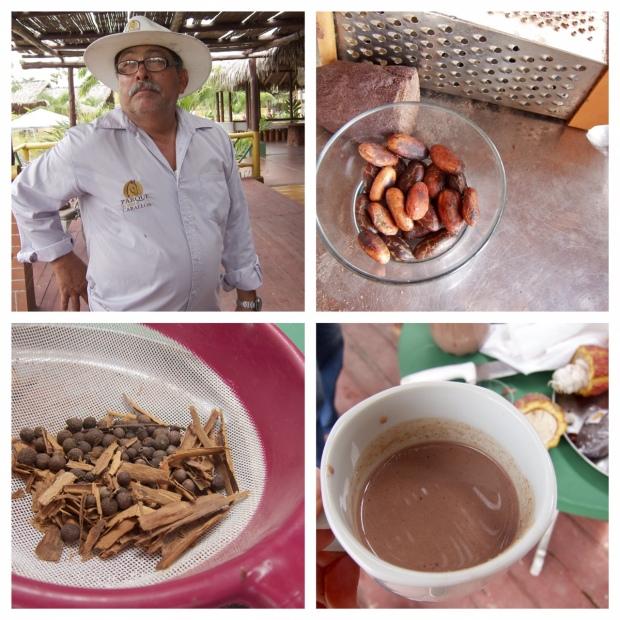 Cristoval & die Zutaten für Gewürz-Trinkschokolade