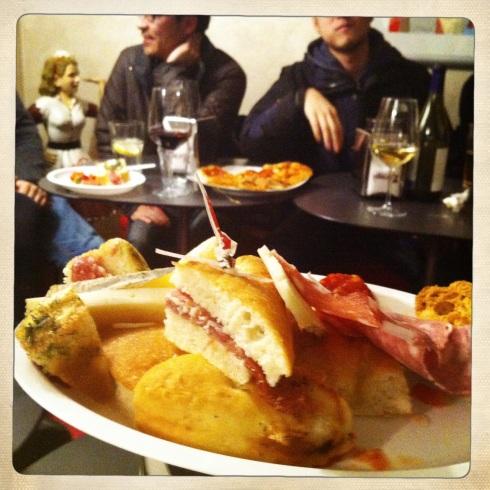 Die italienische Variante von Dinner-Cancelling.