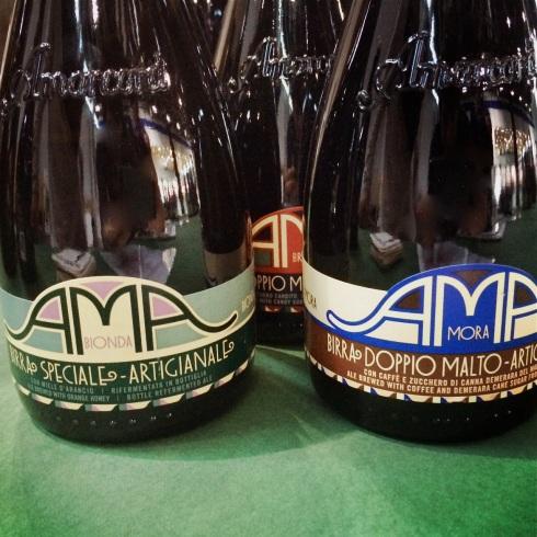 Biere von Amacord, Etiketten von Milton Glaser