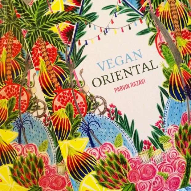 Vegan Oriental von Parvin Razavi © Coverart: Henriette Artz